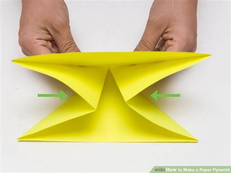 paper pyramid craft how to make a paper pyramid 15 steps with pictures