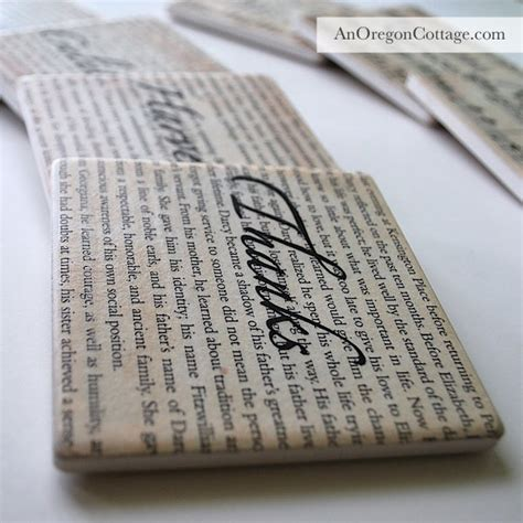 decoupage with book pages book page and sheet decoupaged coasters