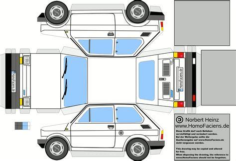 paper craft car homofaciens downloads
