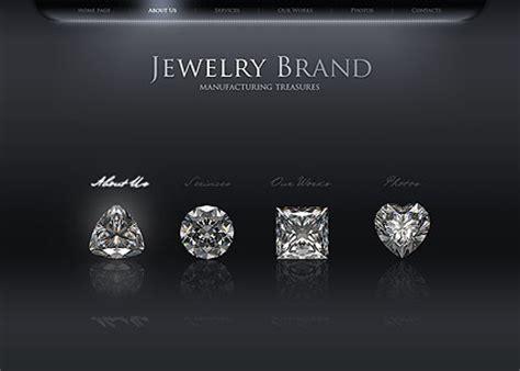 jewelry websites jewelry flash website template best website templates