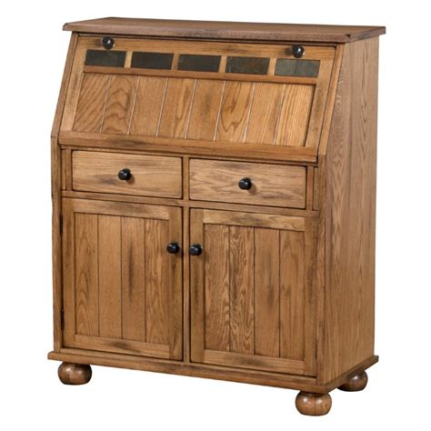 drop leaf computer desk designs sedona drop leaf computer desk in rustic oak