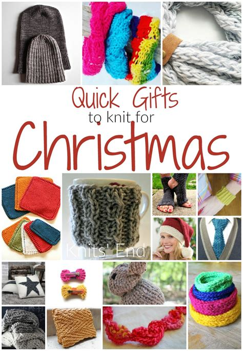 knitting ideas for presents gifts to knit knits end
