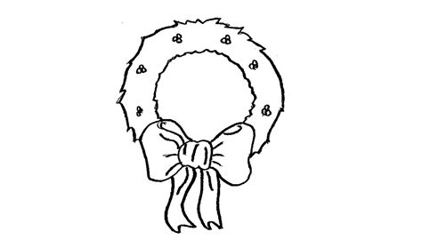 how to draw a ornament how to draw a wreath ornament everything 4