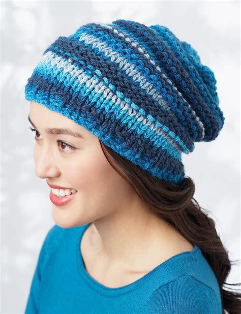 best yarn for knitting hats bernat bargello hat knit pattern yarnspirations