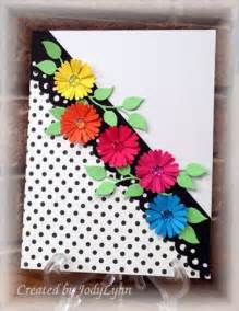 craft paper cards 25 best ideas about flower cards on handmade