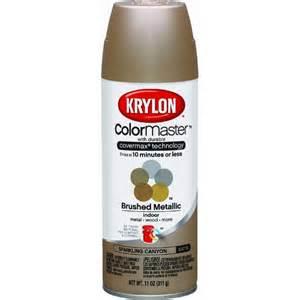 spray paint krylon krylon colormaster brushed metallic satin spray paint ebay