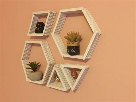 easy craft stick projects geometric patterns easy diy and geometric wall on