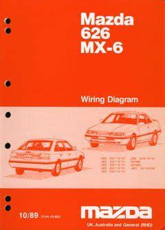 free download parts manuals 1989 mazda mx 6 windshield wipe control mazda 626 mx 6 workshop manual noname