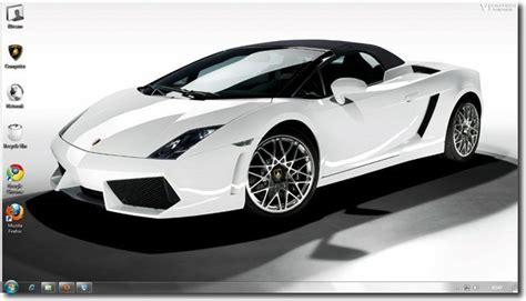 Car Wallpaper Themes by Free Windows 7 Lamborghini Car Themes And Wallpapers