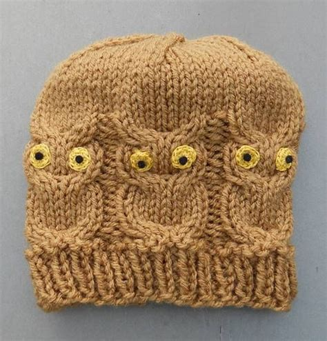 owl hat pattern knit 1000 ideas about owl hat on crochet crochet