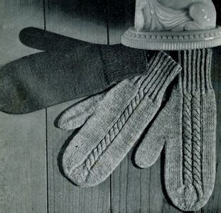 knitting patterns for mittens on four needles 2 needle gloves knitting pattern free knitting and