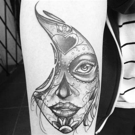 catrina tattoo drawing on instagram