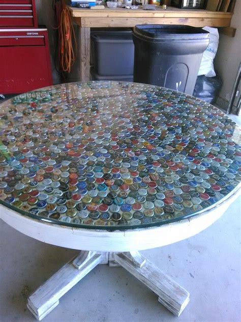bottle cap table top table top jar l 28 images diy bottle cap table cap