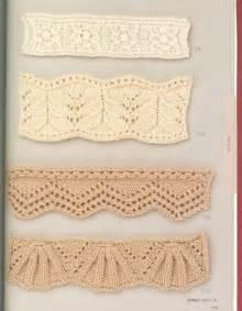 knitted edgings patterns free 17 best images about knit edgings and borders on