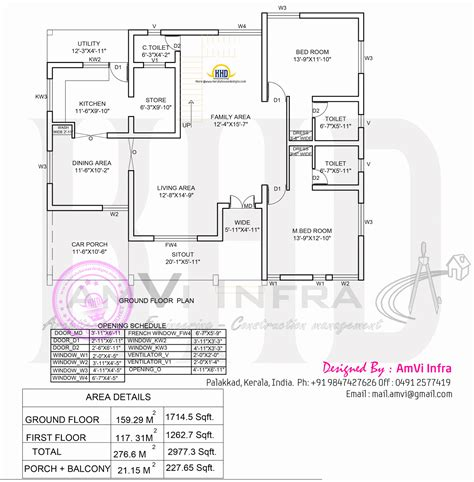 5 bedroom house plans 5 bedroom house elevation with floor plan indian house plans