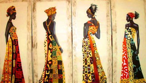 cuadros etnicos mujeres africanas cuadros modernos pinturas y dibujos mu 241 ecas africanas