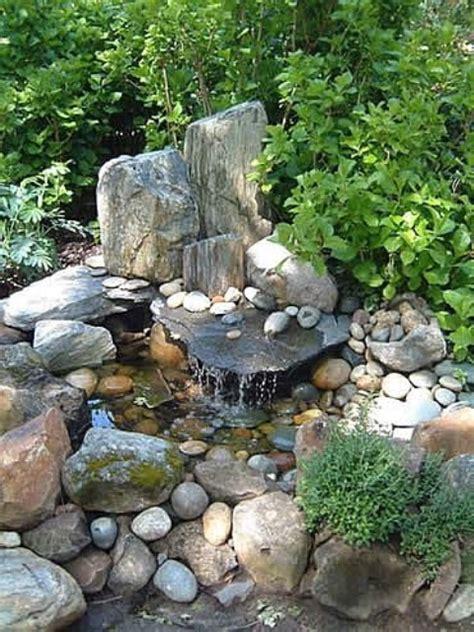 backyard rock garden 75 relaxing garden and backyard waterfalls digsdigs