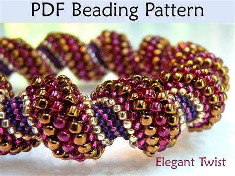 beaded bead tutorial beadweaving patterns beading tutorial cellini tubular