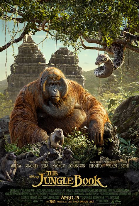 pictures from the jungle book disney reveals quot the jungle book quot triptych poster