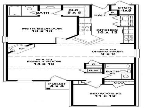 two bedroom house floor plans simple 2 bedroom house floor plans small two bedroom house plans simple house plan treesranch