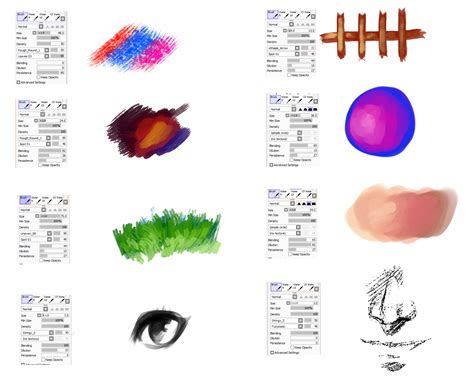 paint tool sai watercolor brush brushes type for paint tool sai 3 by ryky deviantart