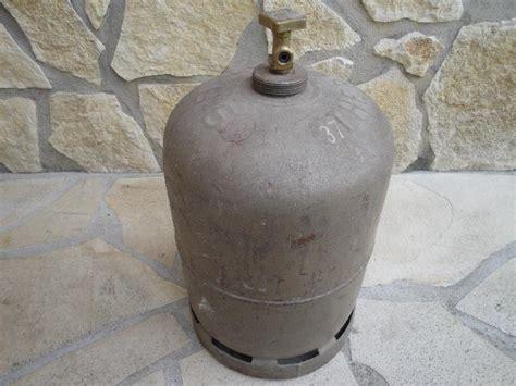 photo bouteille de gaz butane 13 kg vide pour consigne