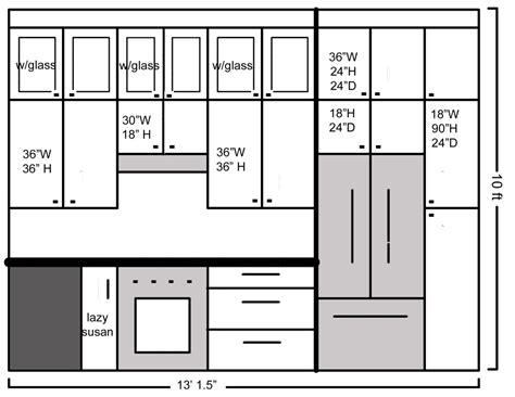standard kitchen cabinet width standard cabinet width for refrigerator cabinets matttroy