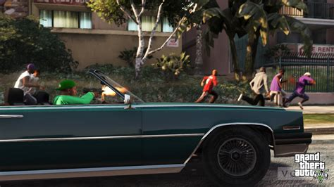 grand theft auto 5 screens are heavy on vehicles vg247