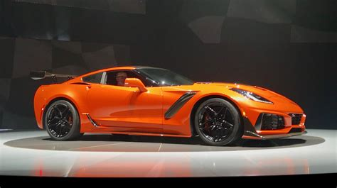 New Corvette Zr1 by Chevrolet Is Back With Its New 2019 Zr1 Corvette And Its