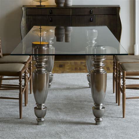 italian dining table italian designer glass dining table