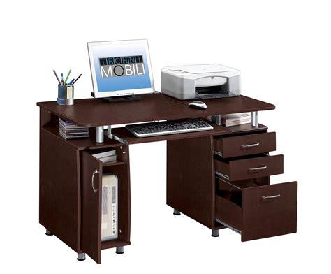 techni computer desk techni mobili multifunction pedestal storage