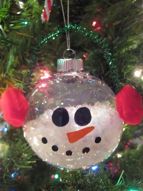 snowman ornament craft decoration ideas amazing image of decorative white glass