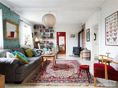 does home interiors still exist vintage eclectic living room inspiration to find a bargain vintage rug haha does