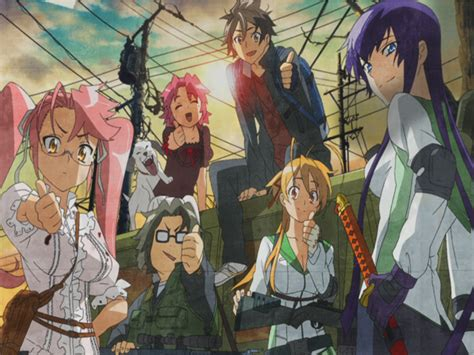 highschool of the dead hotd