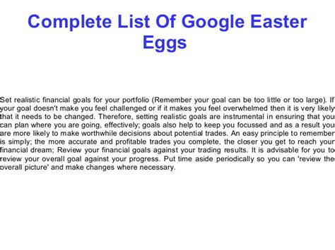 completed list complete list of easter eggs