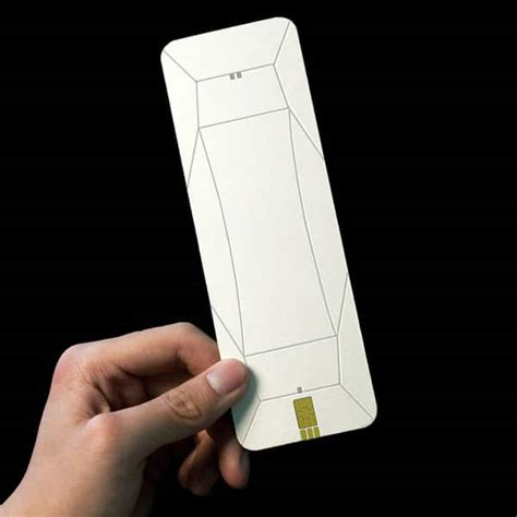 how to make a origami phone fully functional paper origami cell phone design bit rebels