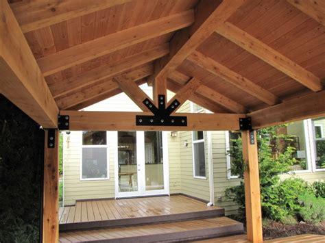 patio post covers patio covers dr decks builds custom deckorators wolf