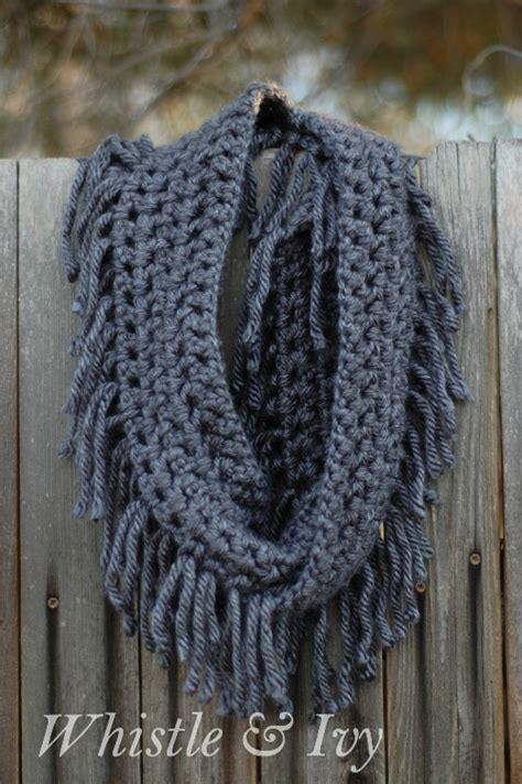 free knitting and crochet patterns crochet eternity scarf pattern crochet and knit