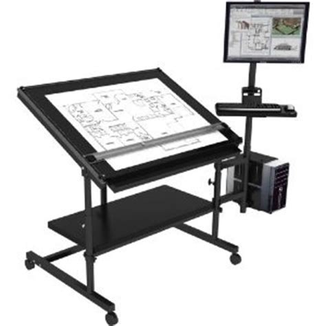computer desk w drafting table excellent design ideas