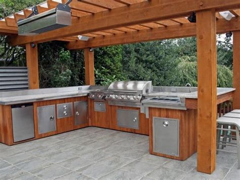 covered outdoor kitchen designs kitchen covered rustic outdoor kitchen rustic outdoor