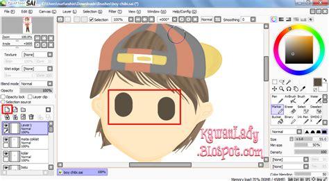 paint tool sai new layer shortcut draw doodle eye using paint tool sai kawaii