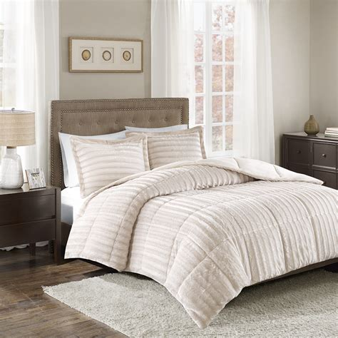 duke comforter set park duke faux fur comforter mini set ebay