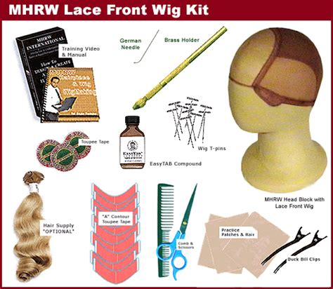 kits to make lace wig kit cheap lace wigs