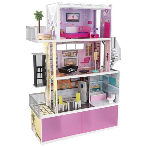 kid craft furniture kidkraft beachfront mansion dollhouse doll house furniture