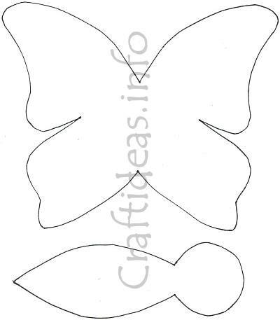 butterflies paper craft butterfly paper craft template for a butterfly