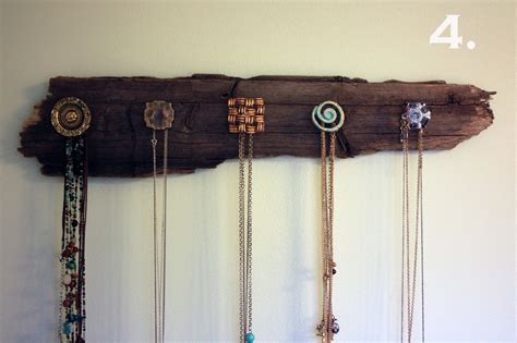 jewelry holder visibly moved diy necklace holder
