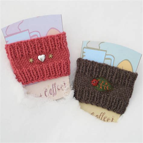 free knitting pattern coffee cup sleeve knit a coffee cup sleeve canadian living
