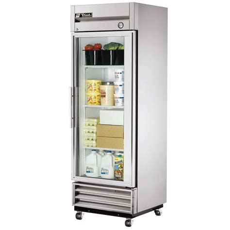 refrigerator with glass door for homes true t 19g reach in refrigerator 1 section