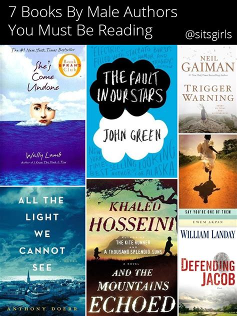books for 7 books you must read authors fiction