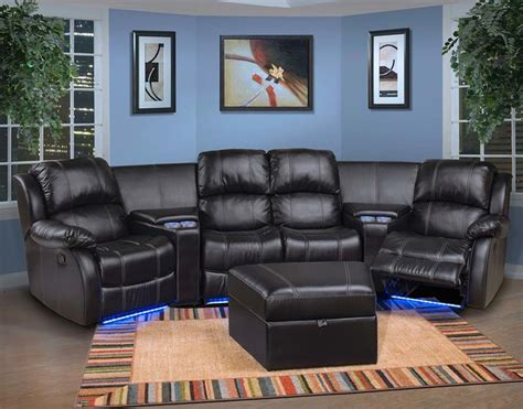 home theater sectional sofas theater sectional sofas home theater media